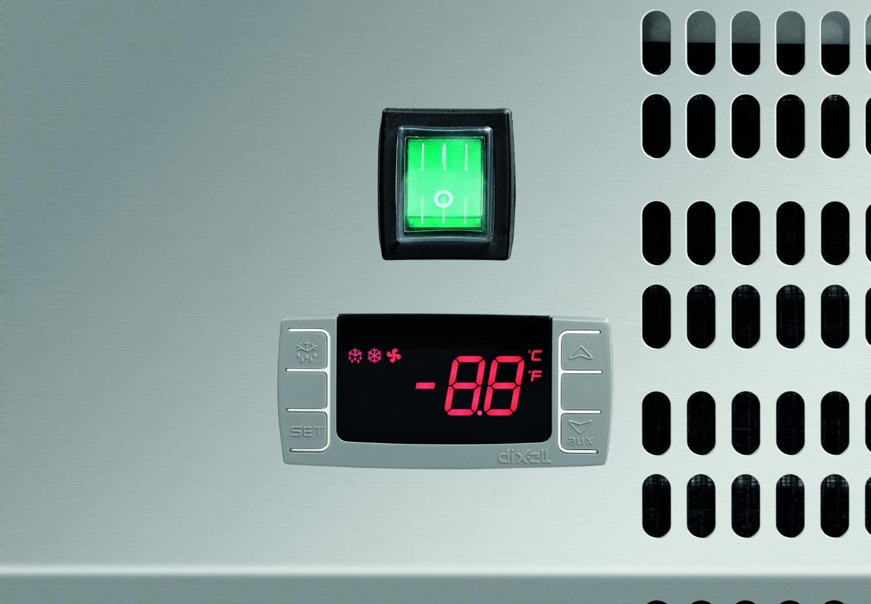 Kühlaufsatzvitrine GL 9 x 1/3 GN