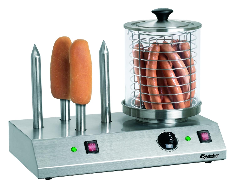 Hot Dog-Gerät, 4 Toaststangen