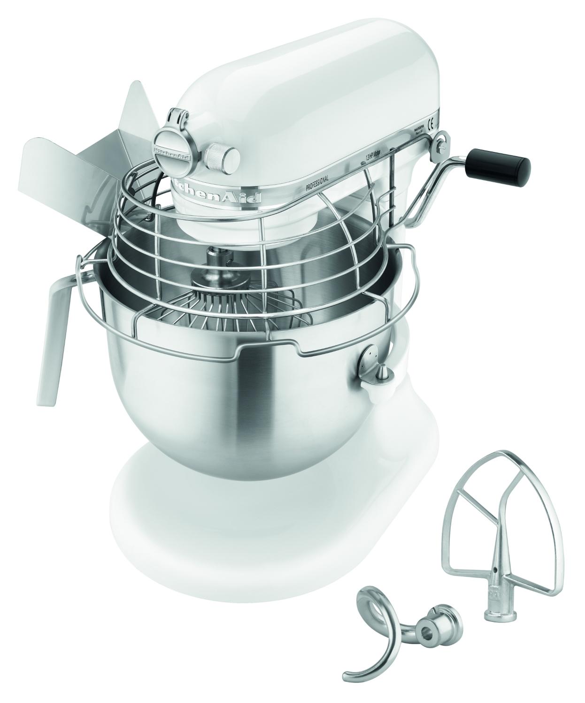 KitchenAid 5KSM7990XEWH weiß, 6,90L