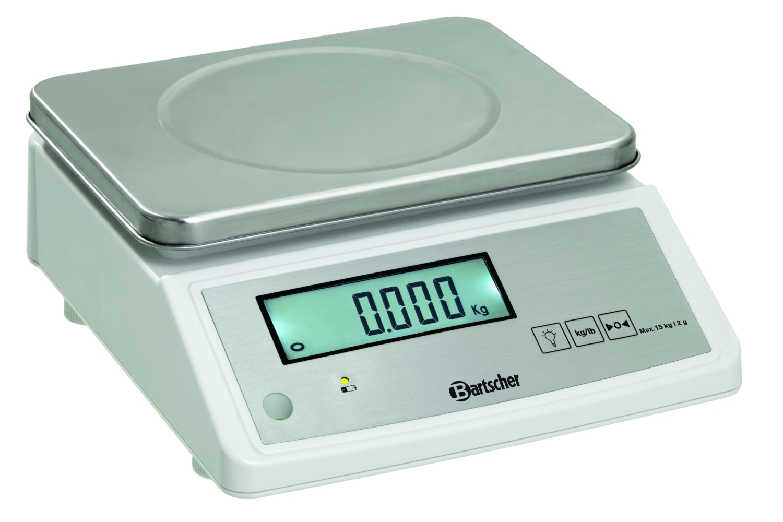 Küchenwaage, 15kg, 2gk