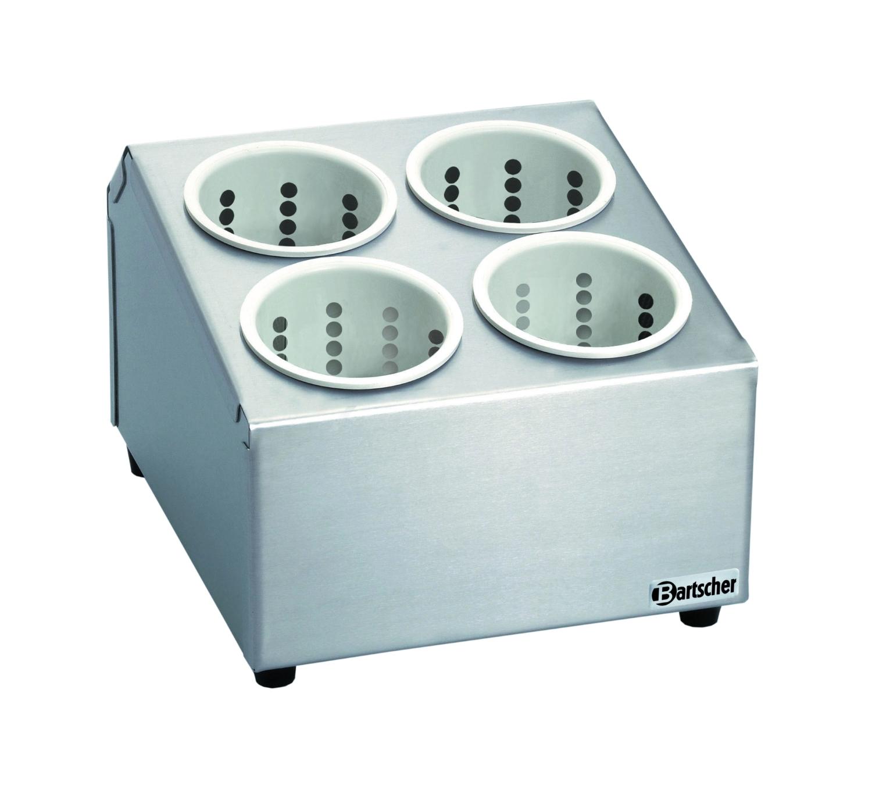 Besteckbehälter mit 4 Köchern