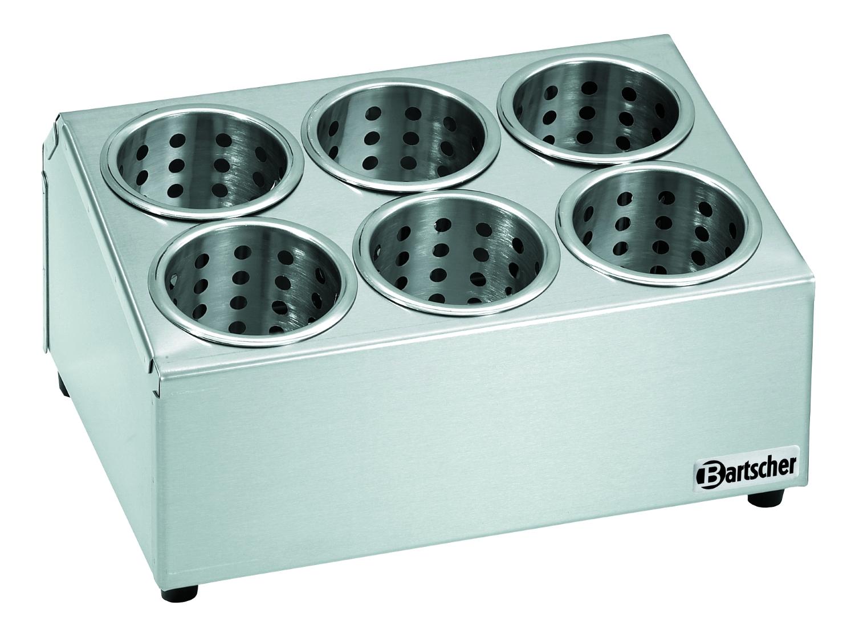 Besteckbehälter für 6 Köcher